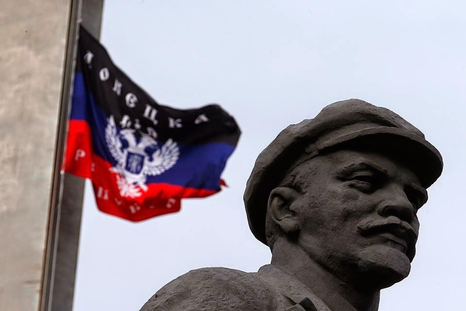 Lenin en Donetsk, el hilo rojo de la memoria anima la resistencia antifascista...