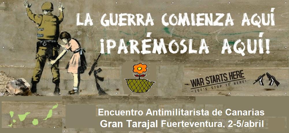 Encuentro antimilitarista