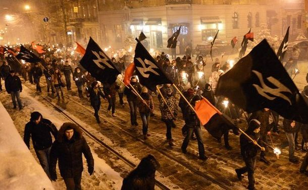UKRAINE-HISTORY-NATIONALISTS-MARCH