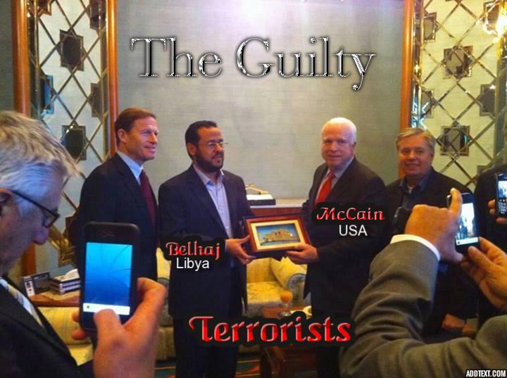 Abdel Hakin Belhaj con gobierno de EEUU
